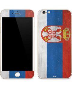 Serbia Flag Distressed iPhone 6/6s Plus Skin