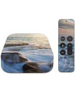 Serene Ocean View Apple TV Skin
