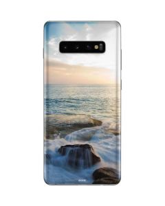 Serene Ocean View Galaxy S10 Plus Skin