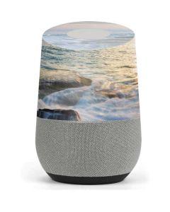 Serene Ocean View Google Home Skin