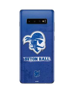 Seton Hall Vintage Galaxy S10 Plus Skin