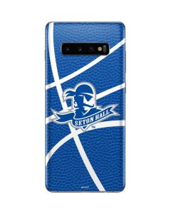 Seton Hall Zoomed Basketball Galaxy S10 Plus Skin