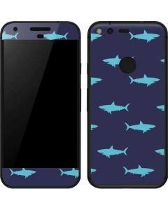 Shark Print Google Pixel Skin