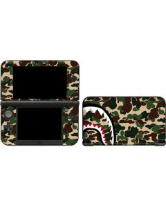 Shark Teeth Street Camo 3DS XL 2015 Skin