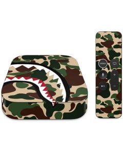 Shark Teeth Street Camo Apple TV Skin