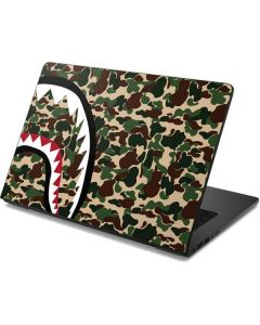 Shark Teeth Street Camo Dell Chromebook Skin