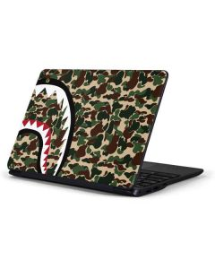 Shark Teeth Street Camo Samsung Chromebook Skin