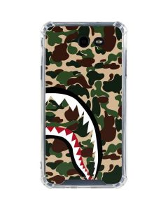 Shark Teeth Street Camo Galaxy J7 (2017) Clear Case