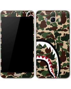 Shark Teeth Street Camo Galaxy J7 Skin
