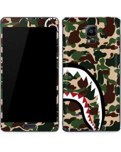 Shark Teeth Street Camo Galaxy Note 4 Skin