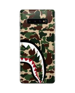 Shark Teeth Street Camo Galaxy S10 Plus Skin