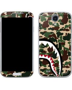 Shark Teeth Street Camo Galaxy S4 Skin