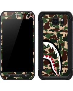 Shark Teeth Street Camo Galaxy S6 Active Skin