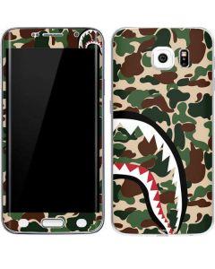 Shark Teeth Street Camo Galaxy S6 Edge Skin