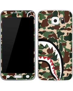 Shark Teeth Street Camo Galaxy S6 Skin