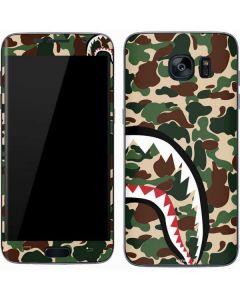 Shark Teeth Street Camo Galaxy S7 Skin