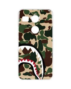 Shark Teeth Street Camo Google Nexus 5X Clear Case