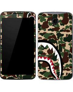 Shark Teeth Street Camo Google Nexus 6 Skin