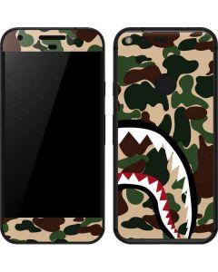 Shark Teeth Street Camo Google Pixel Skin