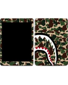 Shark Teeth Street Camo Apple iPad Skin