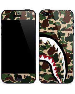 Shark Teeth Street Camo iPhone 5/5s/SE Skin