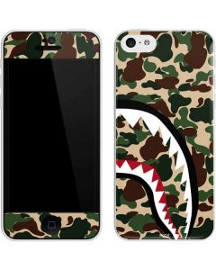 Shark Teeth Street Camo iPhone 5c Skin