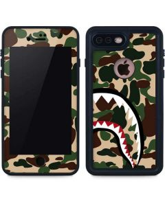 Shark Teeth Street Camo iPhone 7 Plus Waterproof Case