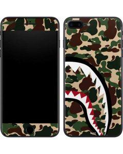 Shark Teeth Street Camo iPhone 8 Plus Skin
