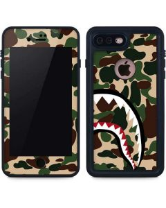 Shark Teeth Street Camo iPhone 8 Plus Waterproof Case