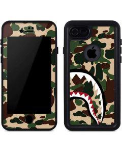 Shark Teeth Street Camo iPhone 8 Waterproof Case