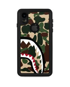 Shark Teeth Street Camo iPhone XR Waterproof Case