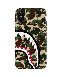 Shark Teeth Street Camo iPhone XS Pro Case