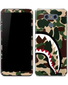 Shark Teeth Street Camo LG G6 Skin