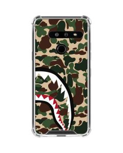 Shark Teeth Street Camo LG G8 ThinQ Clear Case