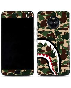 Shark Teeth Street Camo Moto X4 Skin