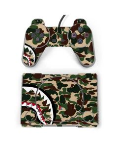 Shark Teeth Street Camo PlayStation Classic Bundle Skin