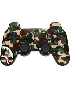 Shark Teeth Street Camo PS3 Dual Shock wireless controller Skin