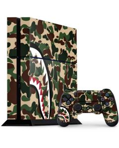 Shark Teeth Street Camo PS4 Console and Controller Bundle Skin