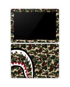 Shark Teeth Street Camo Surface Go Skin