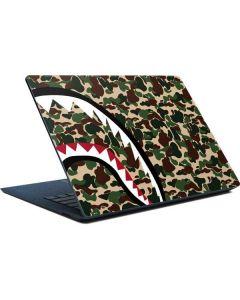 Shark Teeth Street Camo Surface Laptop Skin