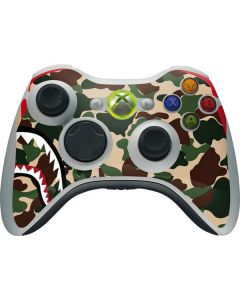 Shark Teeth Street Camo Xbox 360 Wireless Controller Skin