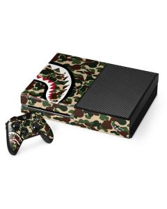 Shark Teeth Street Camo Xbox One Console and Controller Bundle Skin