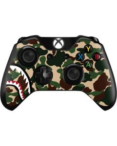 Shark Teeth Street Camo Xbox One Controller Skin
