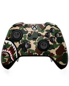 Shark Teeth Street Camo Xbox One Elite Controller Skin