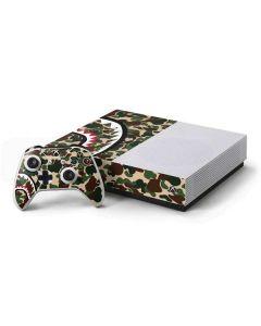 Shark Teeth Street Camo Xbox One S All-Digital Edition Bundle Skin