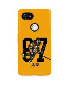 Sidney Crosby #87 Action Sketch Google Pixel 2 XL Pro Case