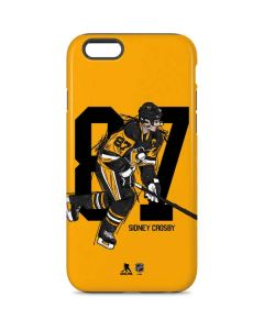Sidney Crosby #87 Action Sketch iPhone 6 Pro Case
