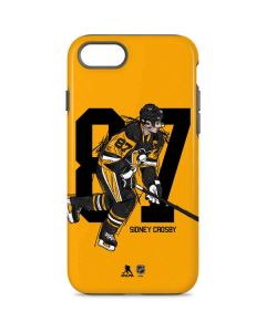 Sidney Crosby #87 Action Sketch iPhone 8 Pro Case