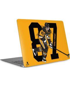 Sidney Crosby #87 Action Sketch Apple MacBook Air Skin