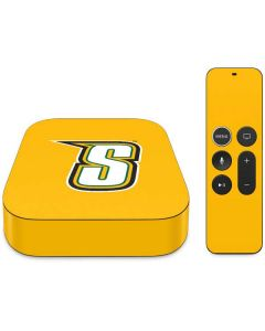 Siena College Yellow Apple TV Skin